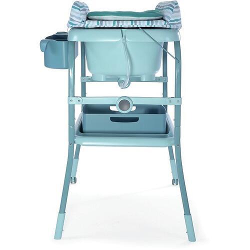 Столик для пеленания+ванночка Chicco Cuddle-Bubble Eucalyptus (14)
