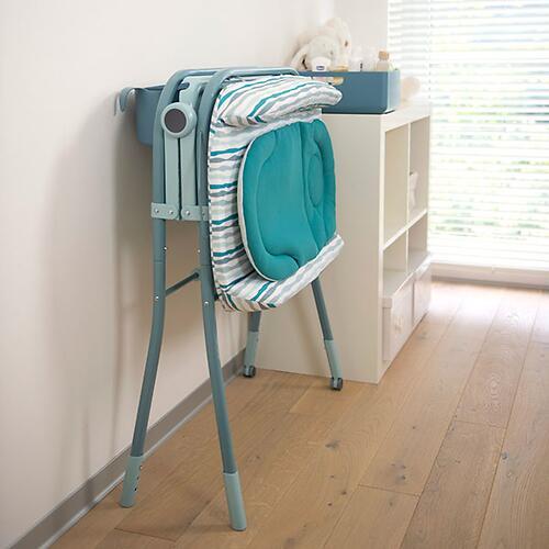 Столик для пеленания+ванночка Chicco Cuddle-Bubble Eucalyptus (19)