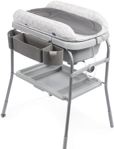Столик для пеленания+ванночка Chicco Cuddle-Bubble Sage (6)