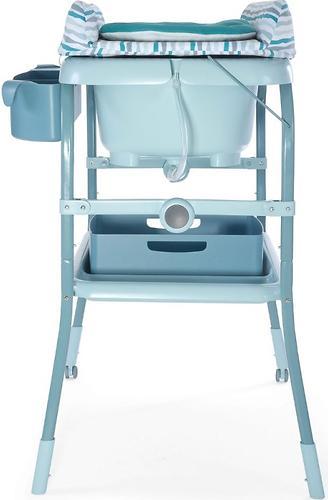 Столик для пеленания+ванночка Chicco Cuddle-Bubble Sage (8)