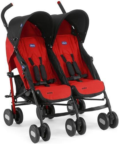 Коляска Chicco для близнецов Echo Twin Stroller Garnet (5)