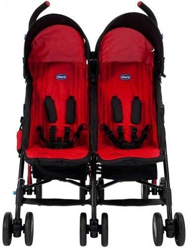 Коляска Chicco для близнецов Echo Twin Stroller Garnet (6)