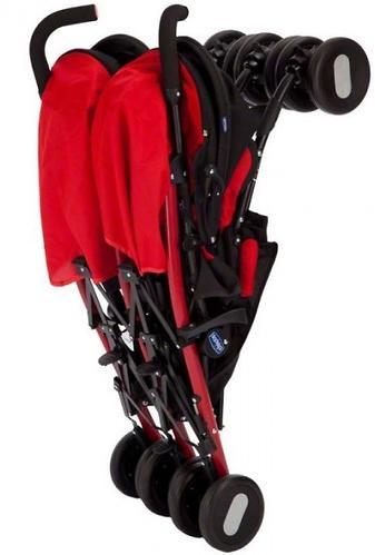 Коляска Chicco для близнецов Echo Twin Stroller Garnet (7)