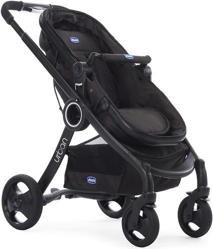 Прогулочная коляска Chicco Urban Plus Crossover Black (9)