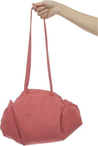 Коврик трансформер Чудо-Чадо + переносной коврик-сумка коралловый/клетка (5)