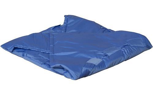 Коврик трансформер Чудо-Чадо + переносной коврик-сумка голубой/мишки (10)