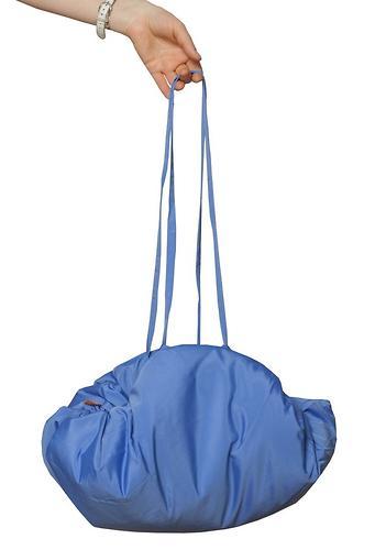 Коврик трансформер Чудо-Чадо + переносной коврик-сумка голубой/мишки (11)