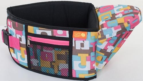 Пояс Чудо-Чадо Xипсит для ношения ребенка ( с сидением ) геометрия (10)