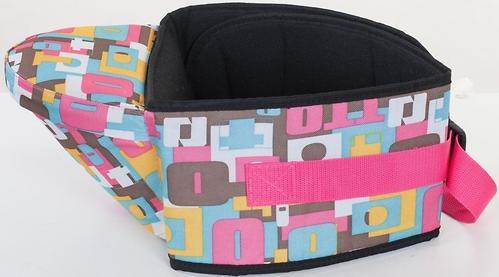 Пояс Чудо-Чадо Xипсит для ношения ребенка ( с сидением ) геометрия (11)