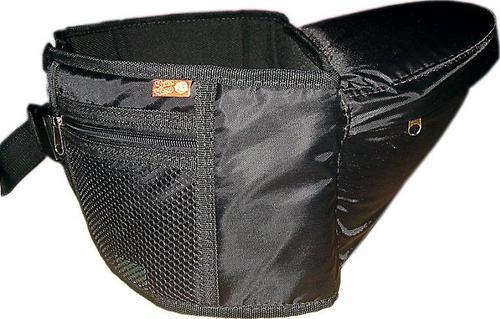 Пояс Чудо-Чадо Xипсит для ношения ребенка (с сиденьем) Черный (5)