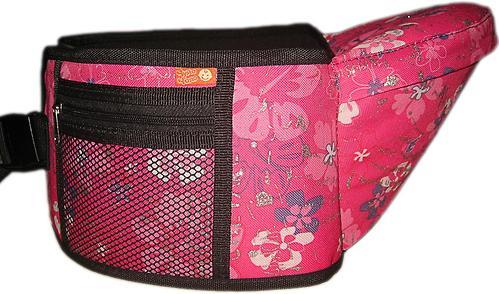 Пояс Чудо-Чадо Xипсит для ношения ребенка ( с сидением ) розовый/гламур (7)