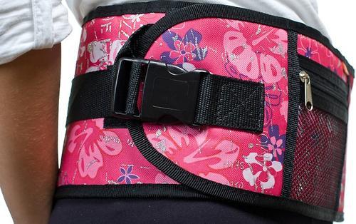Пояс Чудо-Чадо Xипсит для ношения ребенка ( с сидением ) розовый/гламур (11)