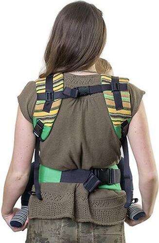 Слинг-рюкзак Чудо-Чадо Уичоли зеленый (12)