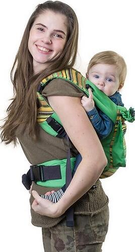 Слинг-рюкзак Чудо-Чадо Уичоли зеленый (16)