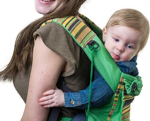 Слинг-рюкзак Чудо-Чадо Уичоли зеленый (18)