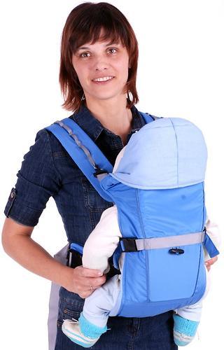 Кенгуру-рюкзак Чудо-Чадо Baby Active Simple голубой (6)