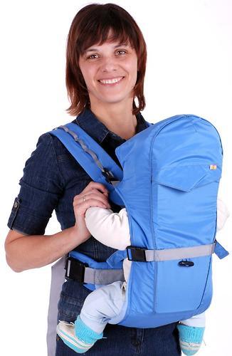 Кенгуру-рюкзак Чудо-Чадо Baby Active Simple голубой (7)