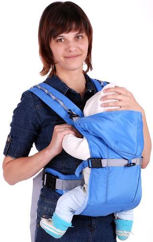 Кенгуру-рюкзак Чудо-Чадо Baby Active Simple голубой (8)