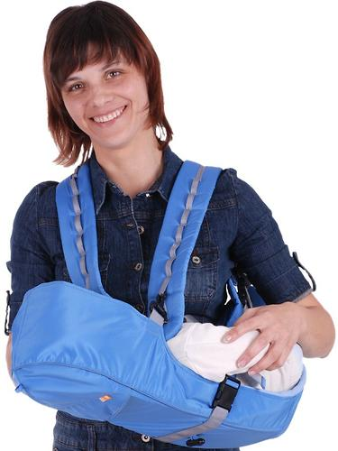 Кенгуру-рюкзак Чудо-Чадо Baby Active Simple голубой (9)