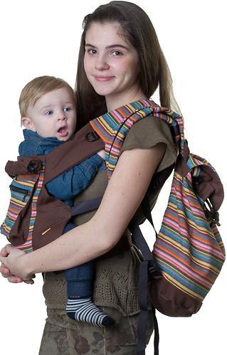 Сумка-рюкзак для мамы Чудо-Чадо Уичоли шоколадный (4)