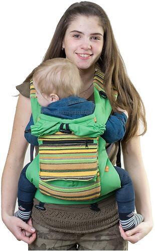 Слинг-рюкзак Чудо-Чадо Уичоли зеленый (10)