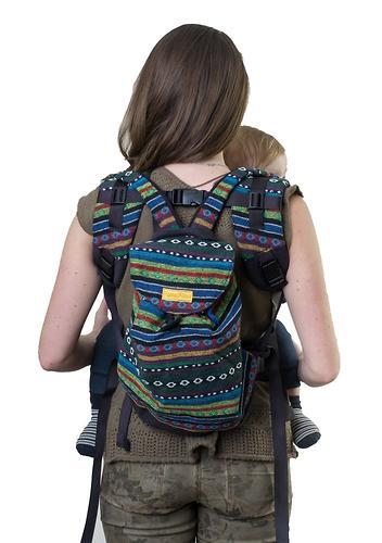 Сумка-рюкзак для мамы Чудо-Чадо Уичоли индиго (6)