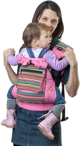 Сумка-рюкзак для мамы Чудо-Чадо Уичоли розовый (5)