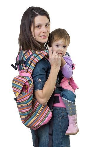 Сумка-рюкзак для мамы Чудо-Чадо Уичоли розовый (6)