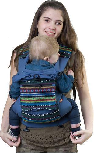 Сумка-рюкзак для мамы Чудо-Чадо Уичоли темно-синий (6)