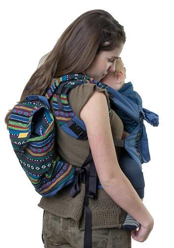 Сумка-рюкзак для мамы Чудо-Чадо Уичоли темно-синий (5)