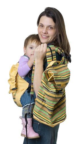 Сумка-рюкзак для мамы Чудо-Чадо Уичоли светло-желтый (4)