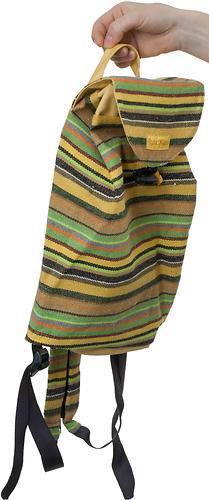 Сумка-рюкзак для мамы Чудо-Чадо Уичоли светло-желтый (3)