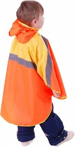 Дождевик Чудо-чадо Светлячок оранжево-желтый 134/140 (10)
