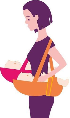 Кенгуру-рюкзак Чудо-Чадо Baby Active Choice Карнавал-синий (12)