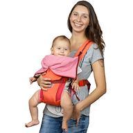Кенгуру-рюкзак Чудо-Чадо Baby Active Luxe (вишнево-коралловый)