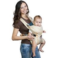 Кенгуру-рюкзак Чудо-Чадо Baby Active Simple Бежевый