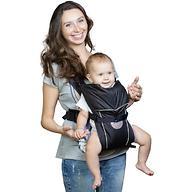 Кенгуру-рюкзак Чудо-Чадо Baby Active Simple Черный