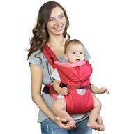 Кенгуру-рюкзак Чудо-Чадо Baby Active Simple Вишневый