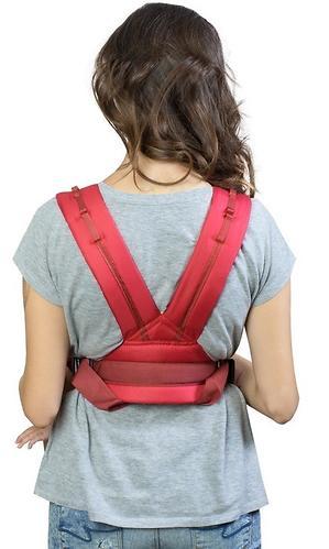 Кенгуру-рюкзак Чудо-Чадо Baby Active Simple Вишневый (7)