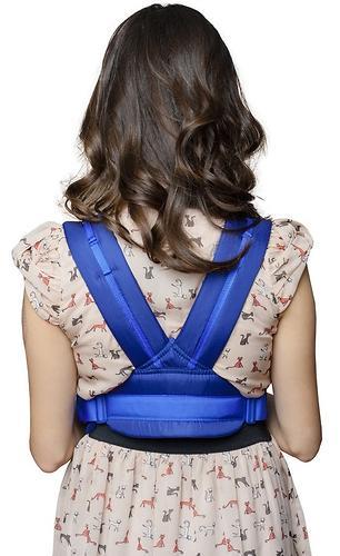 Кенгуру-рюкзак Чудо-Чадо Baby Active Simple Синий (5)