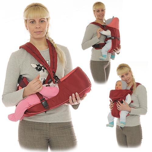 Кенгуру-рюкзак Чудо-Чадо Baby Active Simple Черный (7)