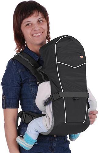 Кенгуру-рюкзак Чудо-Чадо Baby Active Simple Черный (8)