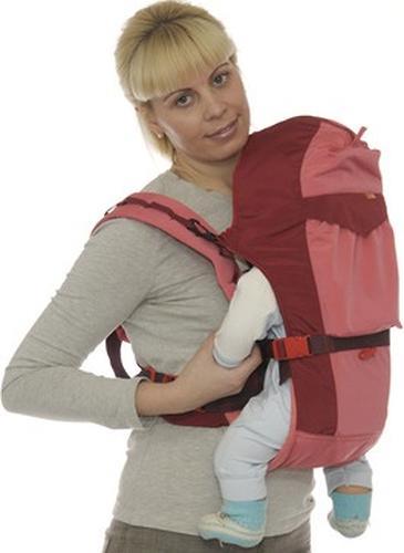 Кенгуру-рюкзак Чудо-Чадо Baby Active Luxe (серо-зеленый) (12)