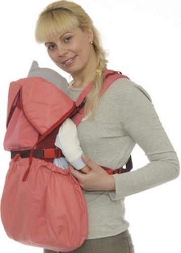 Кенгуру-рюкзак Чудо-Чадо Baby Active Luxe (серо-зеленый) (13)