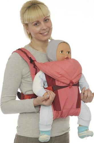 Кенгуру-рюкзак Чудо-Чадо Baby Active Luxe (серо-зеленый) (10)