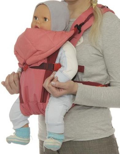 Кенгуру-рюкзак Чудо-Чадо Baby Active Luxe (серо-зеленый) (11)