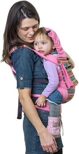 Слинг-рюкзак Чудо-Чадо Уичоли розовый (11)