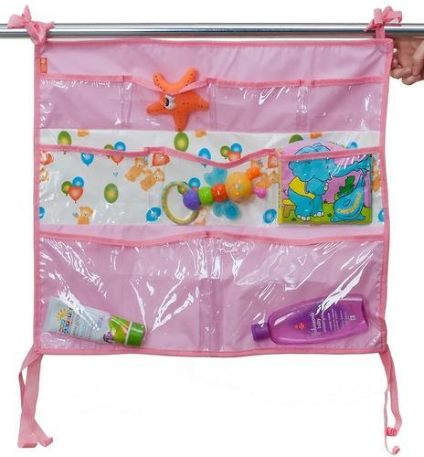 Подвесные карманы Чудо-Чадо Капитошка в ванную розовые (4)