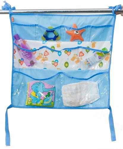 Подвесные карманы Чудо-Чадо Капитошка в ванную голубые (5)