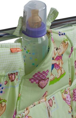 Подвесные карманы Чудо-Чадо Мишутка зеленые (12)